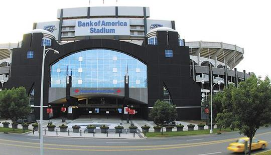 The Belk Bowl will be played in Bank of America Stadium in Charlotte for the 13th consecutive year in 2014.