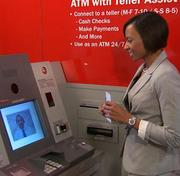 A new version of BofA's ATM.