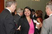 Some 400 attendees network before the fourth annual CFO of the Year awards event.