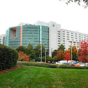 Carolinas Medical Center in midtown Charlotte is the flagship hospital of Carolinas HealthCare System.
