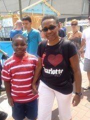 Debra Campbell, planning director for the city of Charlotte, attended CarolinaFest.