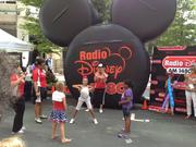 Radio Disney provided entertainment for youngsters at CarolinaFest.