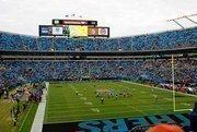 The Carolina Panthers played the Tamp Bay Buccaneers Sunday at Bank of America Stadium.