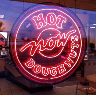 The manager of a Krispy Kreme Doughnuts Inc. store in Texas has become an Internet sensation.