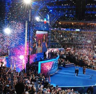 Organizers of the DNC 2012 in Charlotte owe money to a lengthy list of vendors.