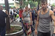 Soaked protesters march through uptown Charlotte on opening day of the DNC.Click here for more on Tuesday's protest.