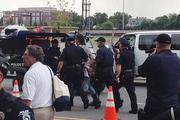 Multiple arrests were made Tuesday during an unannounced protest march as demonstrators refused to stay off the street.Click here for more on that protest.