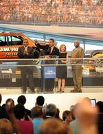 Carolinas delegates rev up convention at NASCAR hall