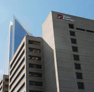 Charlotte-based Duke Energy recently completed its acquisition of Raleigh-based Progress Energy.