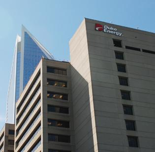 Duke Energy, which is based in Charlotte, recently completed its acquisition of Raleigh-based Progress Energy.