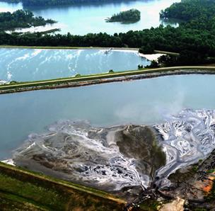 Toxic elements have been found at Mountain Island Lake, downstream from Duke Energy's Riverbend Steam Station in Gaston County.
