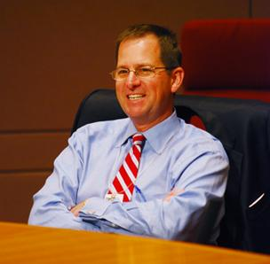 Andy Dulin has yet to decide whether he will seek re-election to City Council.