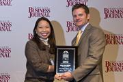 Amy Buu Keller of Westinghouse Electric Co. received recognition as a CBJ Young Leaders in Energy award recipient.
