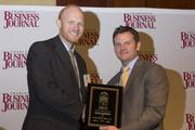 Lucas Fishback of PlotWatt Inc., received recognition as a CBJ Young Leaders in Energy award recipient.