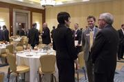 Attendees of the CBJ Energy Leadership Awards network during the event.