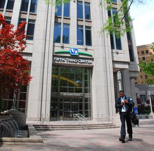 Fifth Third is the Charlotte market's fourth-largest bank.
