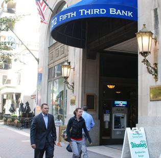 Cincinnati-based Fifth Third Bancorp is the fourth-largest bank in the Charlotte market.