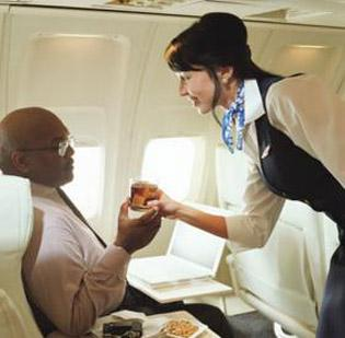 US Airways and Delta with swamped with applicants for flight attendant jobs.