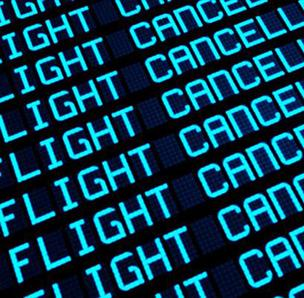 A blizzard in the Northeast U.S. has prompted several flight cancellations at JIA.