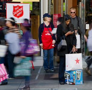 Holiday sales were up 4 percent, according to the National Retail Federation.
