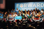 Biden's speech in Charlotte Tuesday focused on familiar campaign themes.