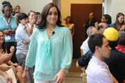 Olympic medalist Jordyn Wieber attended Wednesday's Kids' Health Goes Gold event.