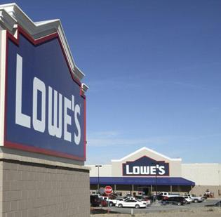 Lowe's sales rose 1.9 percent to $12.1 billion in the quarter.