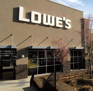 Mooresville-based Lowe's has more than 1,750 stores in the North America.