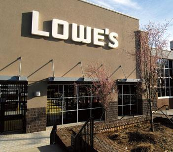Lowe's operates almost 1,750 stores in North America.