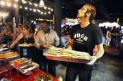 Charlotte restaurants and catering companies served up Southern fare for journalists covering the DNC this week.