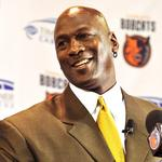 Michael Jordan sees brighter days ahead for Charlotte Bobcats