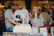 The Common Market, Catawba Brewing Co. and brewpub-in-planning Free Range Brewing Co. collaborated to bring Afternoon Delight Ale to the show.