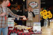 Earth Fare and Cabot cheese provided munchies for the crowd.