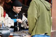 The artisan marketplace at the Carolina Renaissance Festival boasts more than 100 vendors selling unique and often handmade goods ranging from weapons to candles, soaps and jewelry.