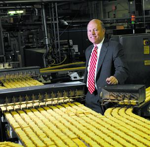 David Singer is chief executive of Charlotte-based snack maker Snyder's-Lance Inc.