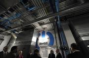 "Tour participants see the inside of what Time Warner Cable calls its ""national data center."""