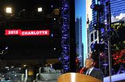 Mayor Anthony Foxx welcomes the crowd of delegates to Charlotte.