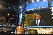 Charlotte Mayor Anthony Foxx shared his personal story of growing up in the Queen City.