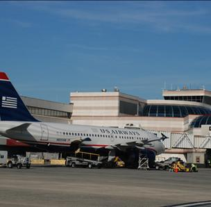 US Airways is the dominant carrier at the CLT airport, representing about 90 percent of local traffic.