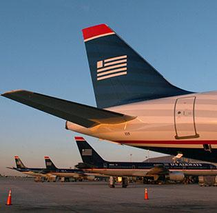US Airways (NYSE:LCC), the main carrier at Charlotte Douglas International Airport, reports increased traffic in January.