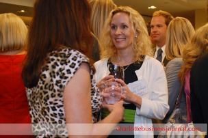 The Charlotte Business Journal held a cocktail reception at Morton's on Tuesday for Women in Business Achievement Award winners and sponsors.