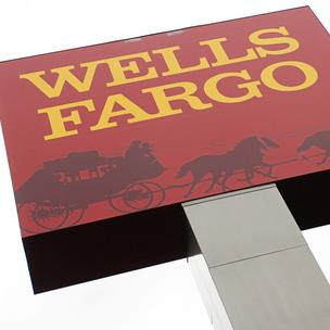 Wells Fargo has dropped to No. 2 among big banks in the American Customer Satisfaction Index, released Tuesday.