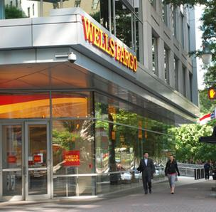 Wells Fargo bases its East Coast operations in Charlotte.