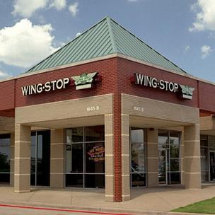 Richardson-based Wingstop Restaurants said same-store sales were up more than 10 percent in the first quarter.