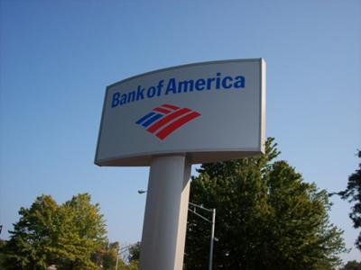 Bank of America has opened a new branch in Schoharie, New York, one year after its former branch was destroyed by Hurricane Irene.