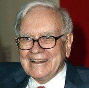Warren Buffett of Omaha's Berkshire Hathaway Inc. was third on Forbes' latest list of the world's billionaires based on a net worth of $44 billion.