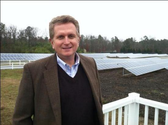 Strata Solar of Chapel Hill, founded by Markus Wilhelm, is one of the state's leading solar developers.