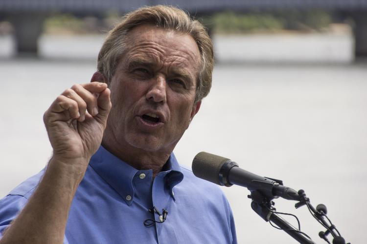 Robert F. Kennedy Jr.'s visit to Charlotte was timed to promote the release of a 47-page report on coal ash pollution that was produced by a coalition of environmental organizations including his Waterkeeper Alliance, the Environmental Integrity Project, Sierra Club, Clean Water Action and EarthJustice.