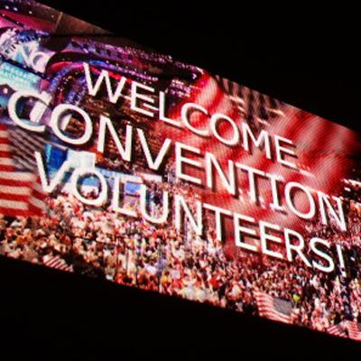 Charlotte hosted the Democratic National Convention during the first week in September.