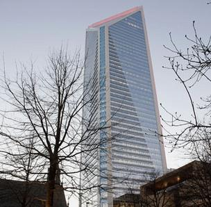 Duke Energy is based in uptown Charlotte.
